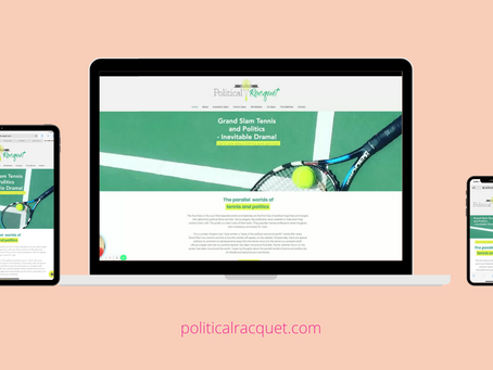 Latest Project: The Political Racquet Brand and Website