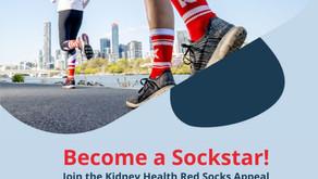 Red Socks Appeal - let's get moving