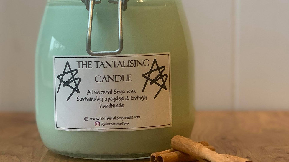 Extra Large Natural Soya wax Candle