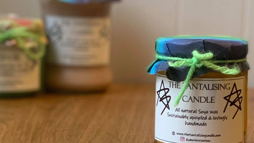 Small Natural Soya wax Candle
