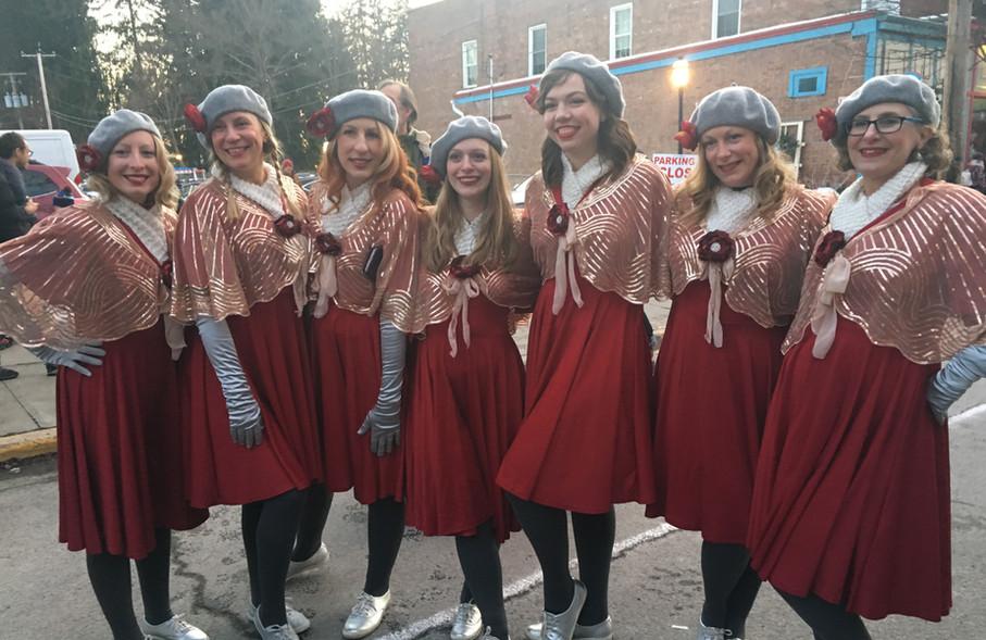 Waltz of the Flowers at Sinterklaas, Dec 2019