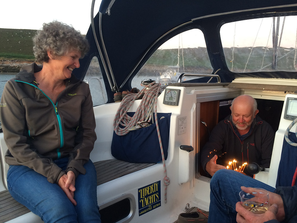 A Special Birthday onboard Pantalaimon