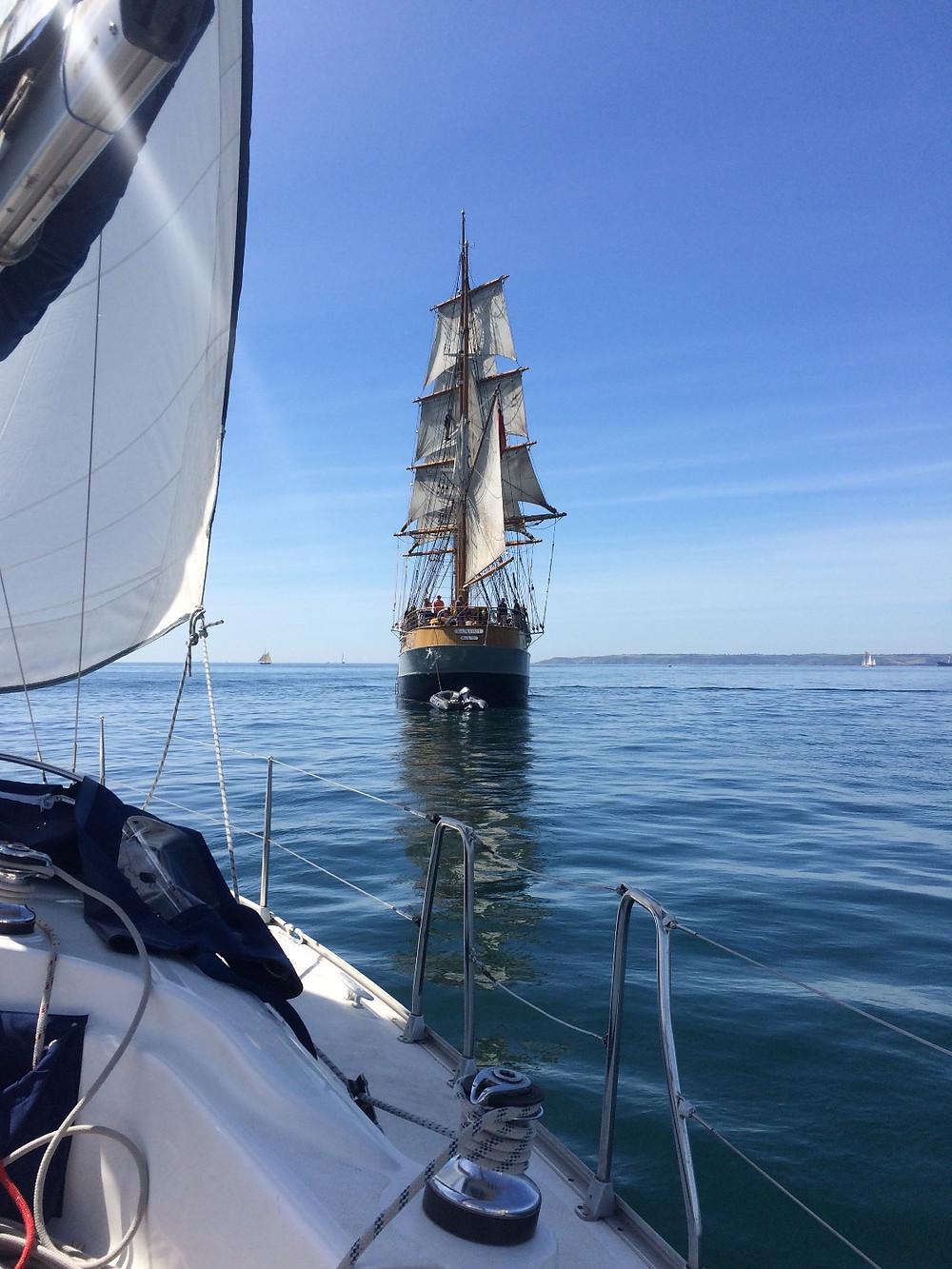 Kascalot off Falmouth
