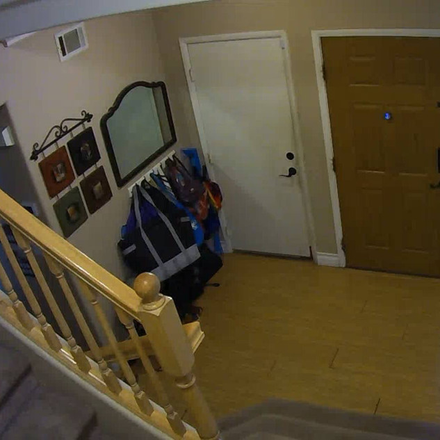 Front entry camera