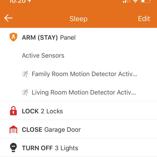 Alarm Sleep Scene