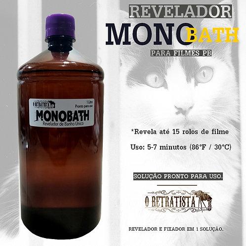 Revelador MONOBATH Filme Fotográfico P&B 1L (Pronto para uso)
