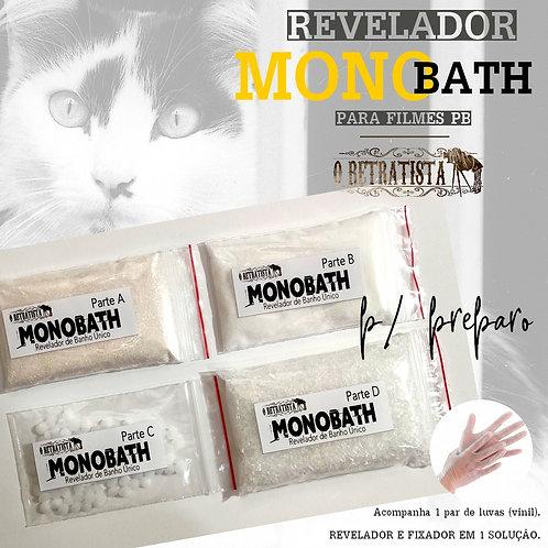 Revelador MONOBATH Filme Fotográfico P&B 1L (P/ preparo)