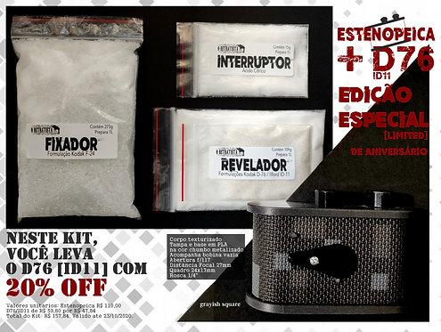 Kit Estenopeica + D76 - Câmera Pinhole do Retratista (Standard 35)
