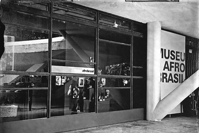 Alex Gimenes e Renan Nakano. Museu Afro Brasil, 2019  Portão 10, Av. Pedro Álvares Cabral, s/n Parque do Ibirapuera.  Negativo de Vidro / Colódio Úmido.