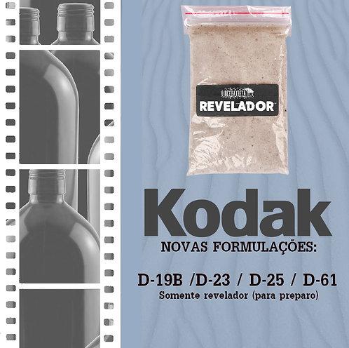 Reveladores Kodak Novas Formulações - Só Revelador em pó (Faz 1L)