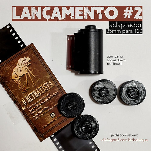 Adaptador 35mm - 120 O Retratista