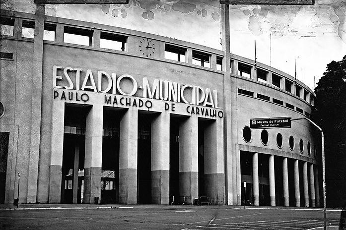 Alex Gimenes e Renan Nakano. Museu do Futebol, 2019  Praça Charles Miler, s/n – Pacaembu.   Negativo de Vidro / Colódio Úmido.
