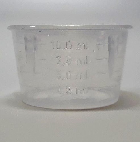 Dosador Plástico Graduado 10ml