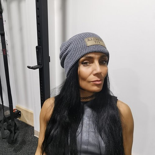 Grey Slouch Hat
