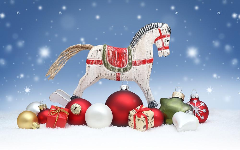 лошадь новый год