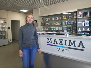 На стажировку в MAXIMA VET приехала студентка Берлинского университета