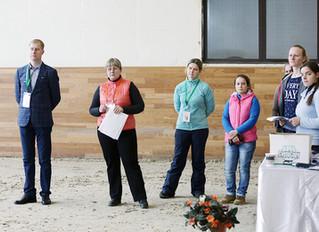 29 марта: международные соревнования и ветеринарная выводка.