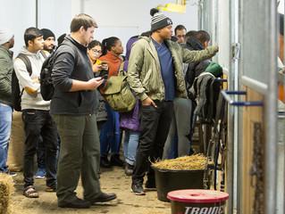 Будущие ветеринары из Ливана, ЮАР, Алжира и Индии побывали на экскурсии в MAXIMA VET