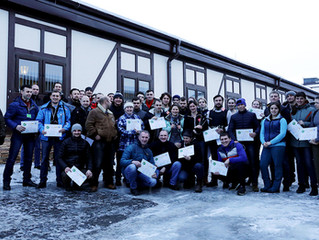 Второй (заключительный) день семинара для ковалей в Maxima Vet.