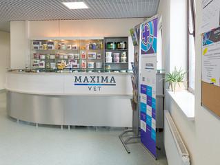 Ветеринарная клиникаMAXIMAVET приглашает на работуадминистраторов.