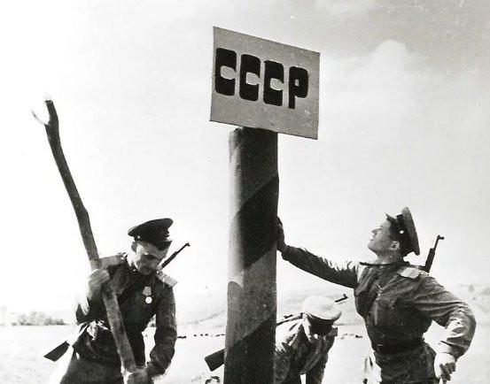 выход советских войск