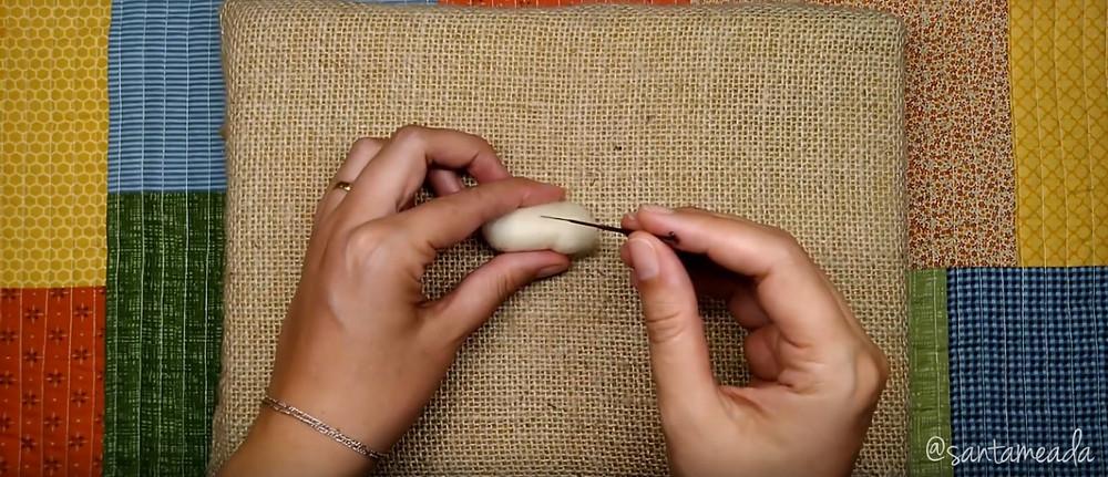 feltragem com agulhas - needle felting - dicas