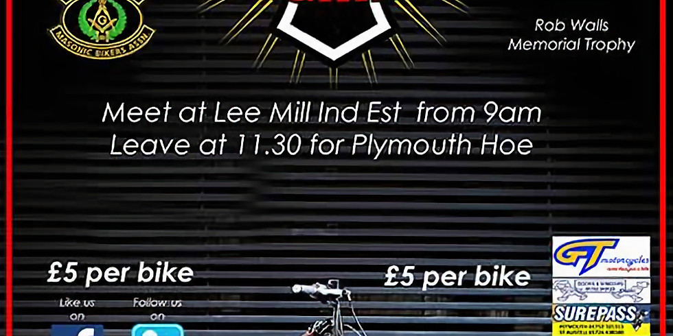 Plymouth Mega Ride, August 12th 2018