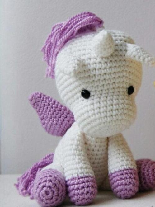 Unicornio Musas Crochet
