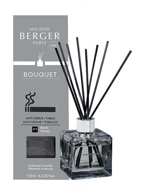 MAISON BERGER Duftbouquet Cube Speziell gegen Tabak Gerüche 125ml holzig