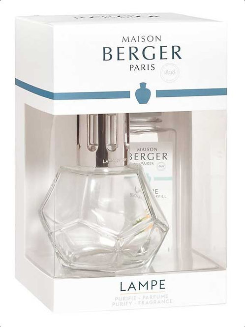 LAMPE BERGER Geschenkset Geometry Transparent