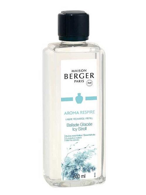 LAMPE BERGER Parfum Aroma Respire Spaziergang im Eis 500ml