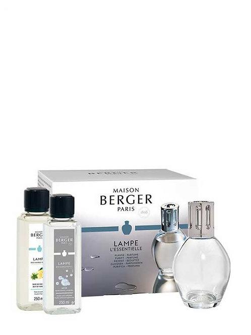 LAMPE BERGER Geschenkset Etincelle Oval