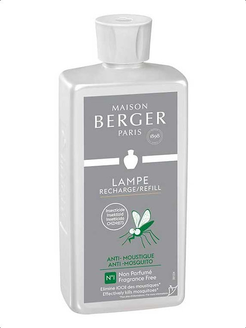 LAMPE BERGER Parfum Anti-Mücken Neutral 500ml