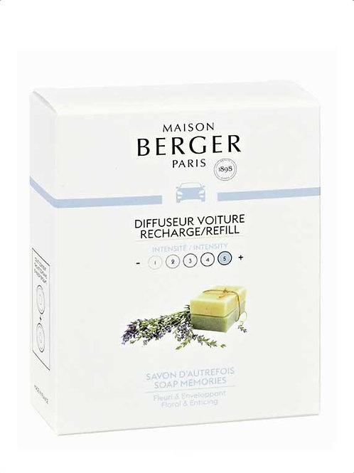MAISON BERGER Nachfüllpack für Autodiffusor Frische Seife