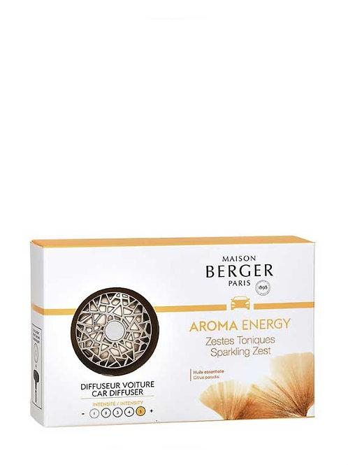 MAISON BERGER Autodiffusor Aroma Energy Strahlende Lebensfreude