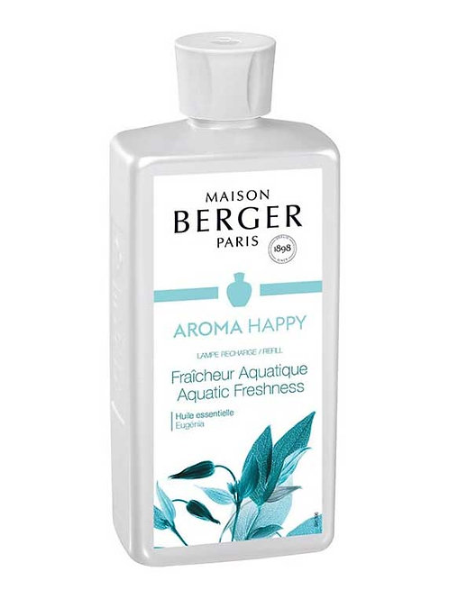 LAMPE BERGER Parfum Aroma Happy Aquatische Frische 500ml