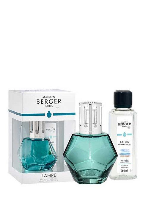 LAMPE BERGER Geschenkset Geometry Blau