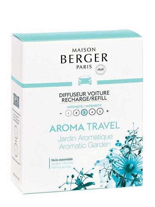 MAISON BERGER Nachfüllpack für Autodiffusor Aroma Travel - Aromatischer Garten