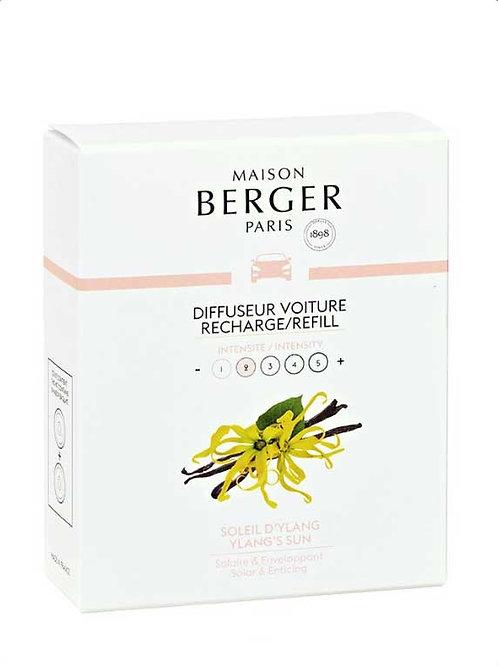 MAISON BERGER Nachfüllpack für Autodiffusor Sonnige Ylang-Pflanze