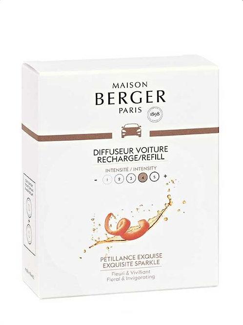 MAISON BERGER Nachfüllpack für Autodiffusor Prickelnd wie Champagner