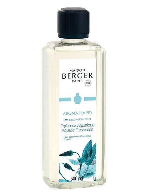 LAMPE BERGER Parfum Aroma Happy Aquatische Frische 500ml