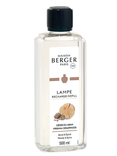 LAMPE BERGER Parfum Zedernholz aus dem Libanon 500ml