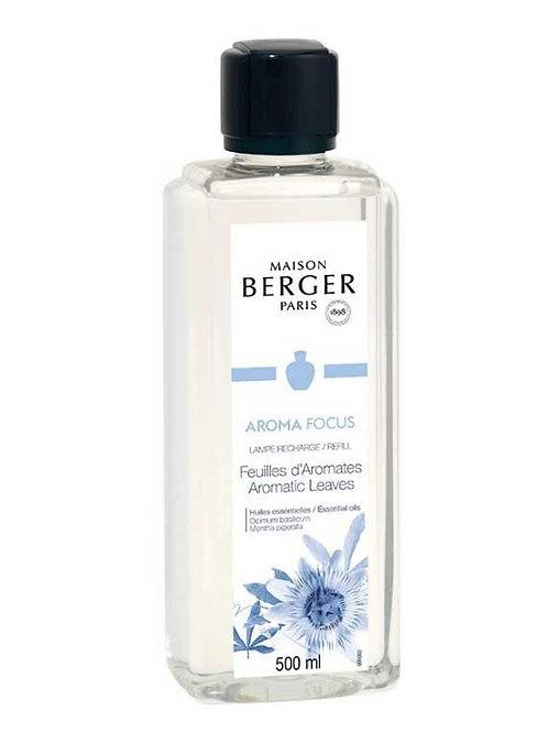 LAMPE BERGER Parfum Aroma Focus Kräuterblätter 500ml