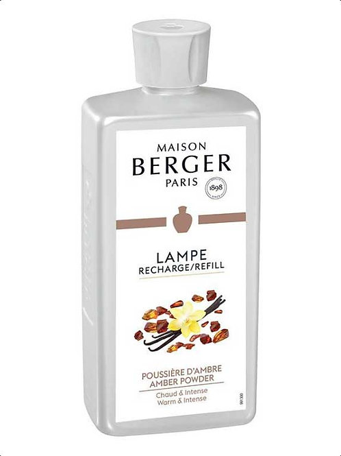 LAMPE BERGER Parfum Pudriger Amber 500ml