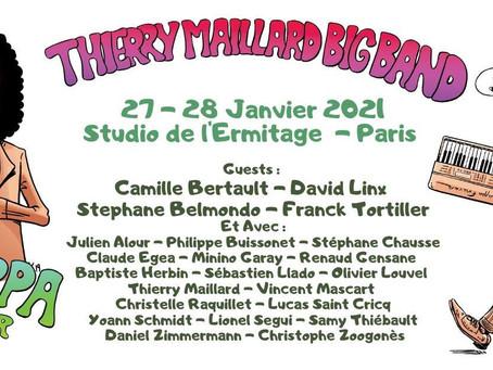 Thierry Maillard Big band 27 + 28 janvier à l'Ermitage