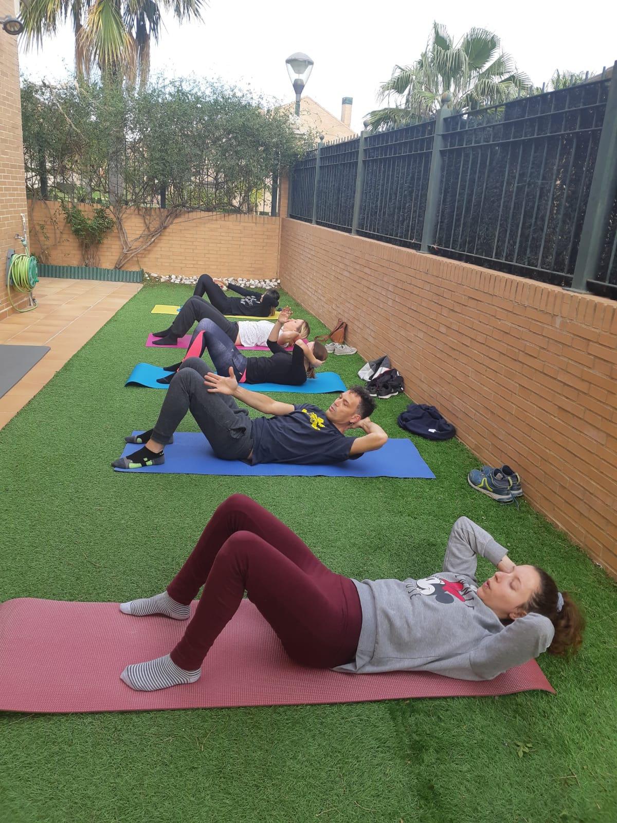 Group Classes Outdoors - Campolivar