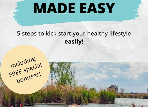 eBook - How to kick start your healthy lifestyle easily