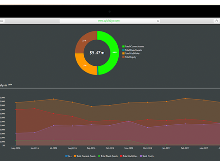 EpicLedger Introduces Financial Position Analytics to Dashboard