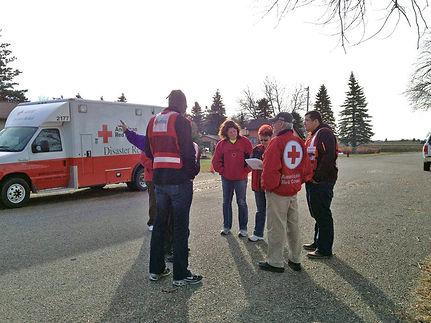 Ambulance and Team Meeting