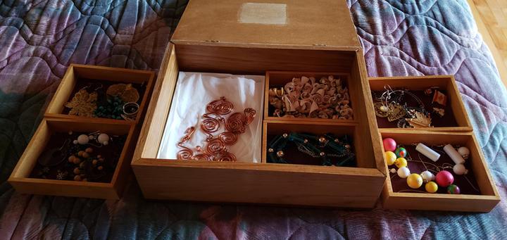 jewelry box - open